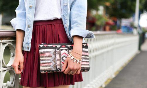 Trapezowa spódnica mini i midi – szykowna propozycja na cały rok